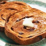 Cinnamon Raisin toast