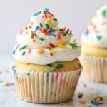 Funfetti cupcakes-July box